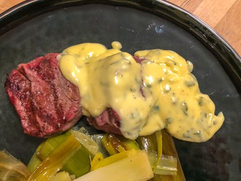 Bearnaise uit de Thermomix