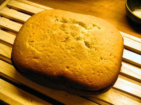 Cake bakken in broodbakmachine