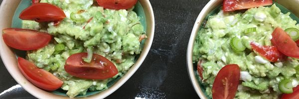 Avocado met peppadew